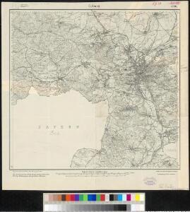 Meßtischblatt 3336 : Coburg, 1919