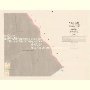 Neubäu - c5300-1-003 - Kaiserpflichtexemplar der Landkarten des stabilen Katasters