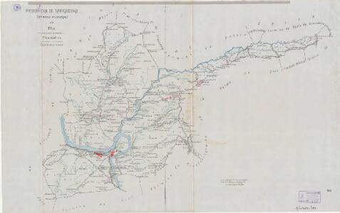 Mapa planimètric de Flix