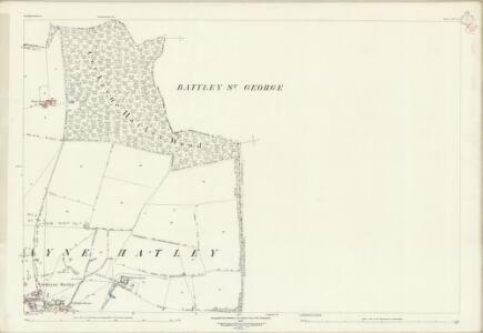 Bedfordshire XIV.13 (includes: Cockayne Hatley; East Hatley; Gamlingay; Hatley St George; Tadlow) - 25 Inch Map