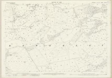 Yorkshire CXXXV.7 (includes: Bewerley) - 25 Inch Map
