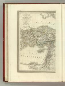 Carte General de la Turquie d'Asie.