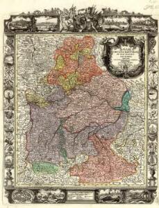 Bavariae Circulus et Electorat. in suas quasque ditiones tam cum adiacentibus quam insertis regionibus accuratißime divisus