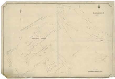Balmain, Sheet 9, 1889