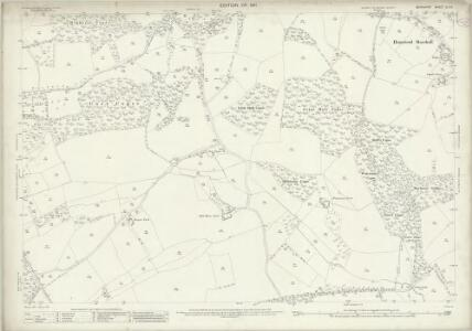 Berkshire XLII.6 (includes: Hampstead Marshall; Kintbury; West Woodhay) - 25 Inch Map