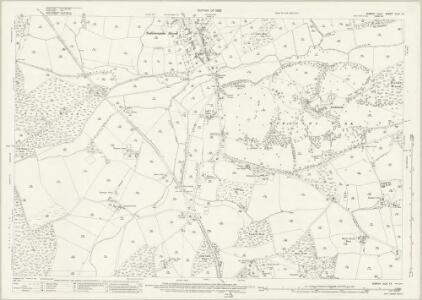 Sussex XLIV.13 (includes: Battle; Sedlescombe; Westfield) - 25 Inch Map