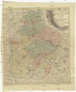 Imperii circulus Bavaria, titulô electoratus insignis ea pro ut in ducatum, ac palatinatum, alisques eorundem status hic politice divisa