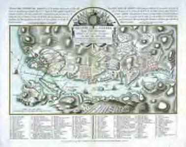 Theatre de la guerre dans l'isle Minorque