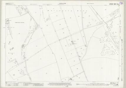 Wiltshire LXXVI.2 (includes: Downton; Rockbourne; Whitsbury) - 25 Inch Map