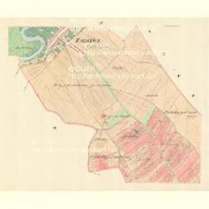 Zarazitz - m3557-1-004 - Kaiserpflichtexemplar der Landkarten des stabilen Katasters