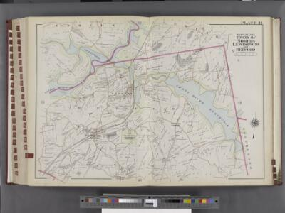 Westchester, V. 2, Double Page Plate No. 41 [Map bounded by Part of the towns of Somers, Lewisboro, Bedford]