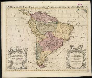 L'Amerique Meridionale divisée en ses principales parties