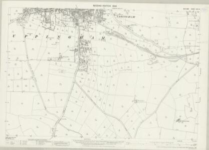 Rutland XIII.10 (includes: Bisbrooke; Liddington; Seaton; Uppingham) - 25 Inch Map