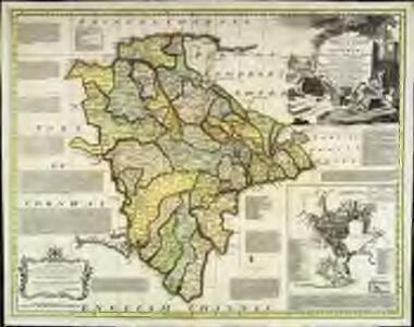 An accurate map of Devon Shire