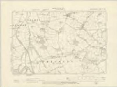 Worcestershire X.NW - OS Six-Inch Map