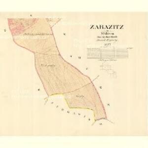 Zarazitz - m3557-1-005 - Kaiserpflichtexemplar der Landkarten des stabilen Katasters