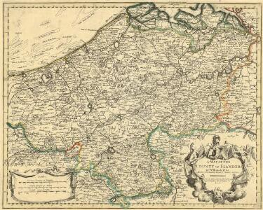 A Map of the County of Flanders