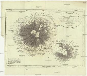 Charte der Insel Otaheite