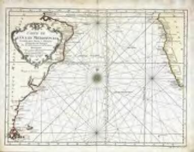 Carte de l'ocean meridional
