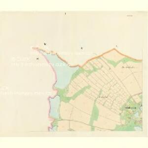 Hluboka - c1893-1-001 - Kaiserpflichtexemplar der Landkarten des stabilen Katasters