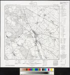 Meßtischblatt 3768 : Kurnik, 1940