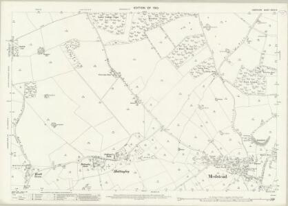 Hampshire and Isle of Wight XXXIV.12 (includes: Bentworth; Medstead; Old Alresford; Wield) - 25 Inch Map