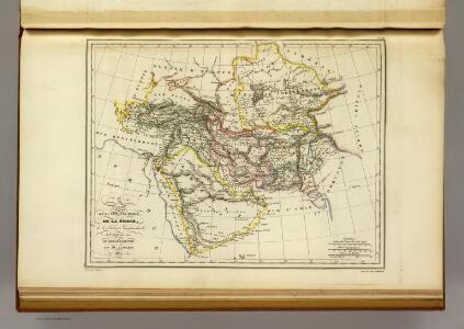 La turque d'Asie, La Perse, l'Afghanistan, l'Arabie.