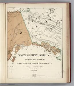 Facsimile:  U.S. Coast Survey Northwestern America (portion).
