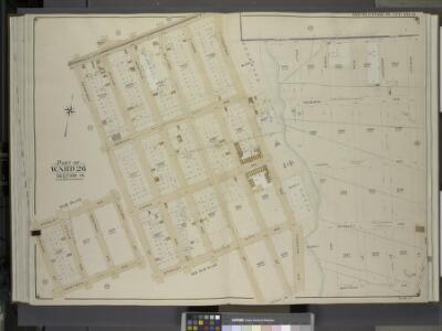 Brooklyn, Vol. 4, Double Page Plate No. 21; Part of   Ward 26; Sections 14; [Map bounded by Newlots Ave., Fountain Ave., Dumont Ave.,  Hemlock St.; Including Old Mill Road, Wortman Ave., Stanley Ave., Berriman St.]; Sub Plan; [Map bounded by Stanley A