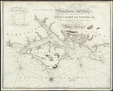 To the right honorable the master, wardens & elder brethren of the Trinity House, this chart of Spithead is ... dedicated