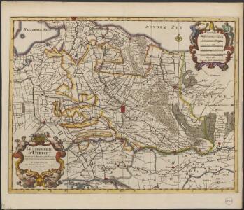 La Seigneurie d'Utrecht. Dressé sur les memoires les plus nouveaux