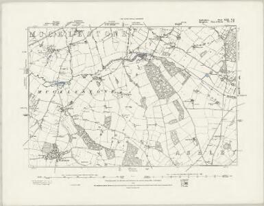 Staffordshire XXII.NW - OS Six-Inch Map