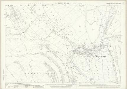 Yorkshire CXV.4 (includes: Hawkswick; Kettlewell With Starbotton) - 25 Inch Map
