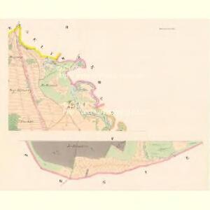 Poniedražko - c6007-1-002 - Kaiserpflichtexemplar der Landkarten des stabilen Katasters