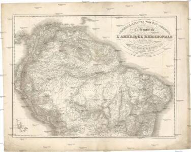 General-Charte von Süd America