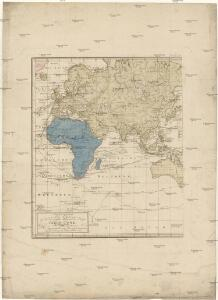 Generalkarte saemmtlicher Entdeckungen auf den drei grossen Weltreissen des Kapit. Jakob Cook