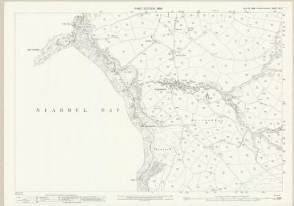 Isle of Man XII.5 - 25 Inch Map