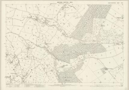 Montgomeryshire XXIV.5 (includes: Trewern) - 25 Inch Map