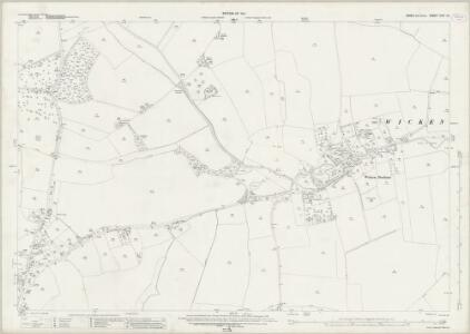 Essex (New Series 1913-) n XIII.10 (includes: Arkesden; Clavering; Quendon and Rickling; Wicken Bonhunt) - 25 Inch Map