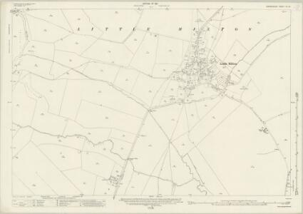 Oxfordshire XL.15 (includes: Denton; Great Haseley; Little Milton; Stadhampton) - 25 Inch Map