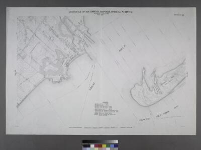 Sheet No. 86. [Includes Southside Boulevard, Guyon Avenue, Crescent Avenue, Nelson Avenue and Wiman Avenue in Crescent Beach, and Crookes Point.]; Borough of Richmond, Topographical Survey.