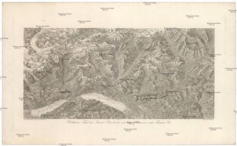 Westlicher Theil des Berner Oberlandes mit dem Brienzer und Thuner See