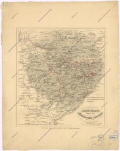 Reise-Karte durch die Sächsische Schweiz