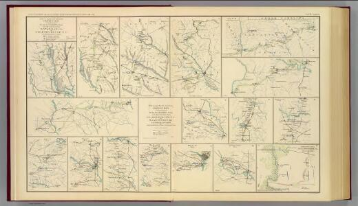 Campaign maps Savannah-Washington, D.C.