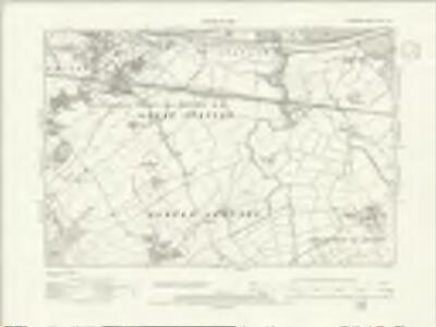 Cheshire XXXI.NE - OS Six-Inch Map