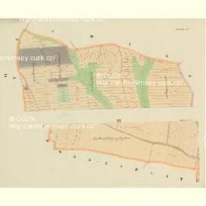 Malleschitz - c4411-1-006 - Kaiserpflichtexemplar der Landkarten des stabilen Katasters