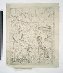 Map of part of the United States of North America : with the territory of the Illinois on the Ohio, particularly designed to illustrate Birkbeck's journey / Neele & Son, sc., 352 Strand.