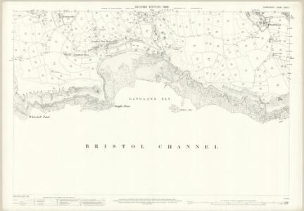Glamorgan XXXII.7 (includes: Oystermouth) - 25 Inch Map