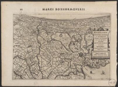 Rhinolandiæ Amstelandiæ et circumjacent. aliquot territoriû accurata descriptio