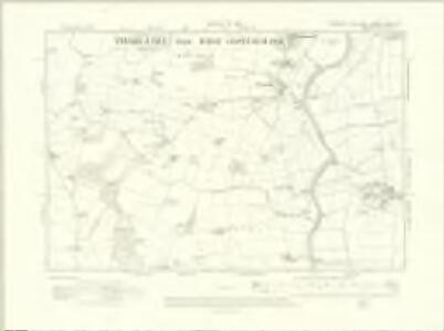 Yorkshire CCVII.NW - OS Six-Inch Map